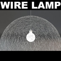 3d model wire light