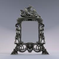 mirror barocco