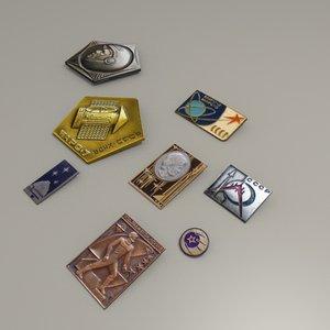fbx russian space pins