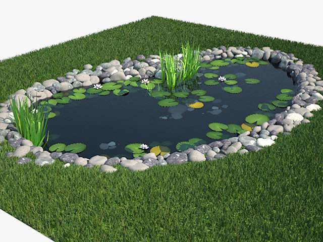 max pond materials modeled