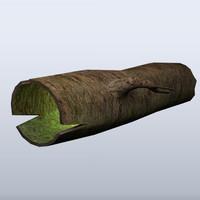 3d big log