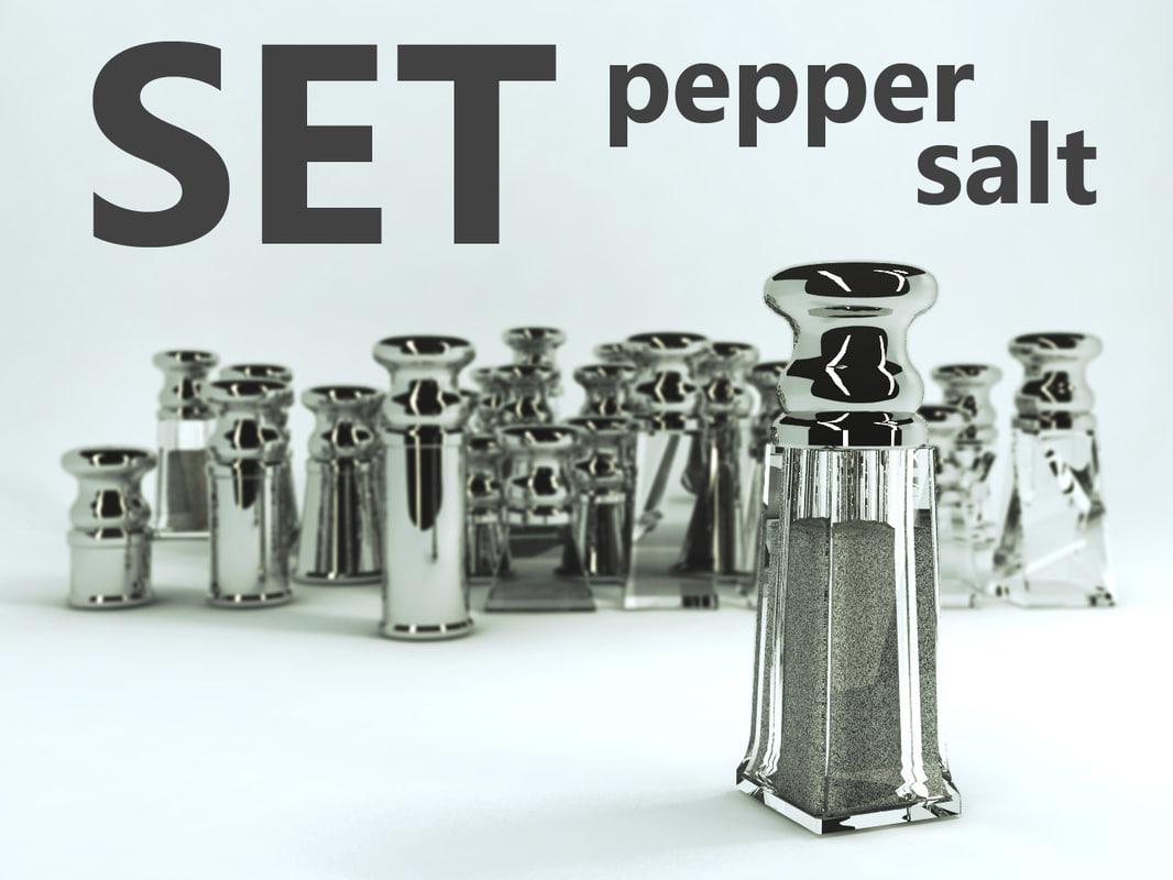 pepper set 3d max