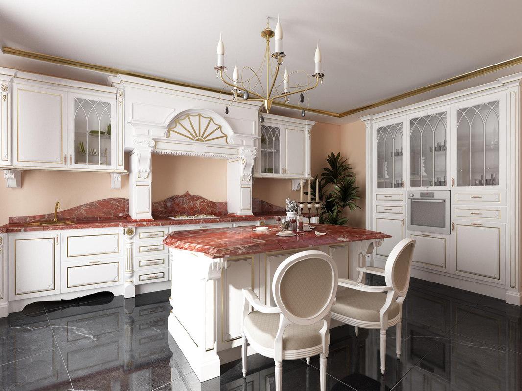 kitchen italian 3d model