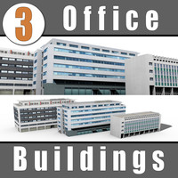 3ds 3 office buildings