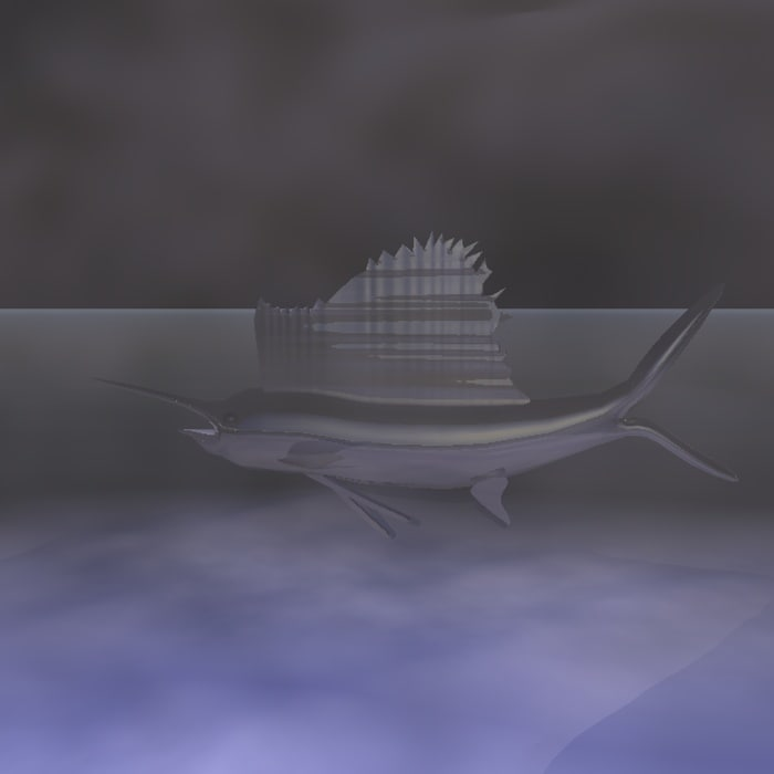 3ds max sailfish