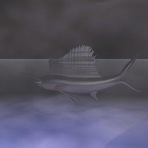 3ds max sailfish
