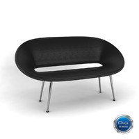 sofa couch chair 3d obj