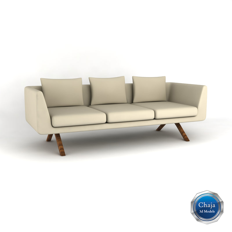 3d sofa couch chair