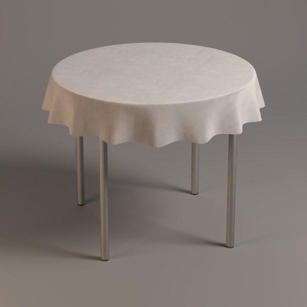 obj table tableclothes