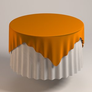 table cloth tablecloth 3ds