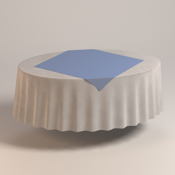 3d oval tablecloth
