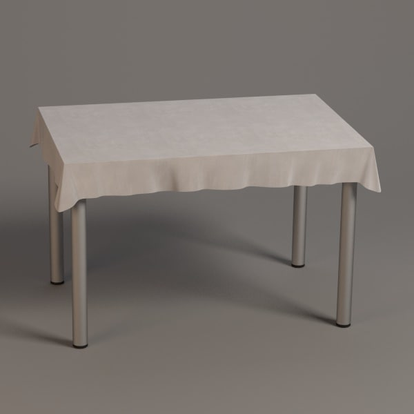 square table 3d 3ds