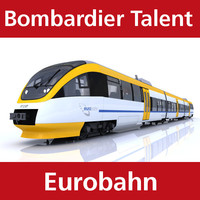 BR643 Talent of Eurobahn
