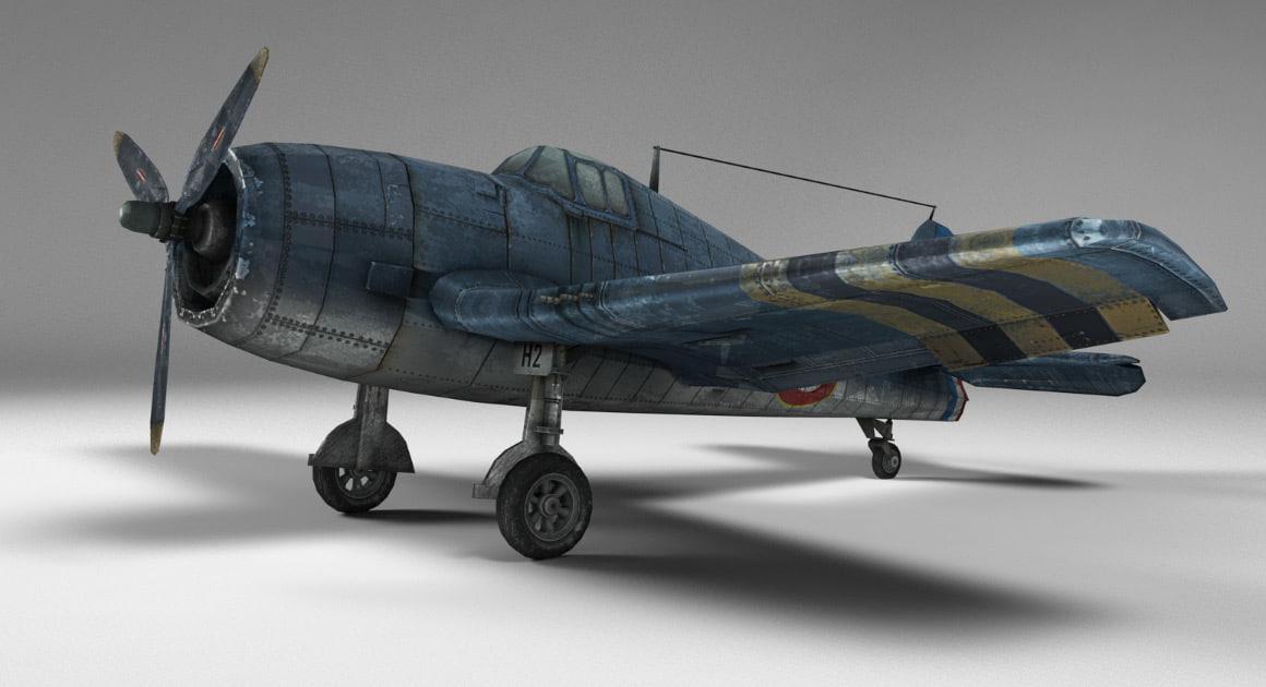 hellcat 3d model