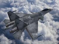 su-37 Terminator - Low Poly