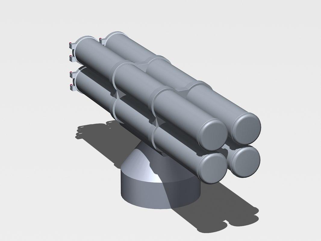 antisubmarine paket-nk 3d model