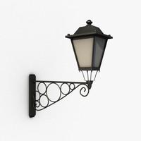 streetlamp decoration 3d obj