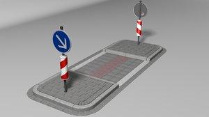 max pedestrian crossing