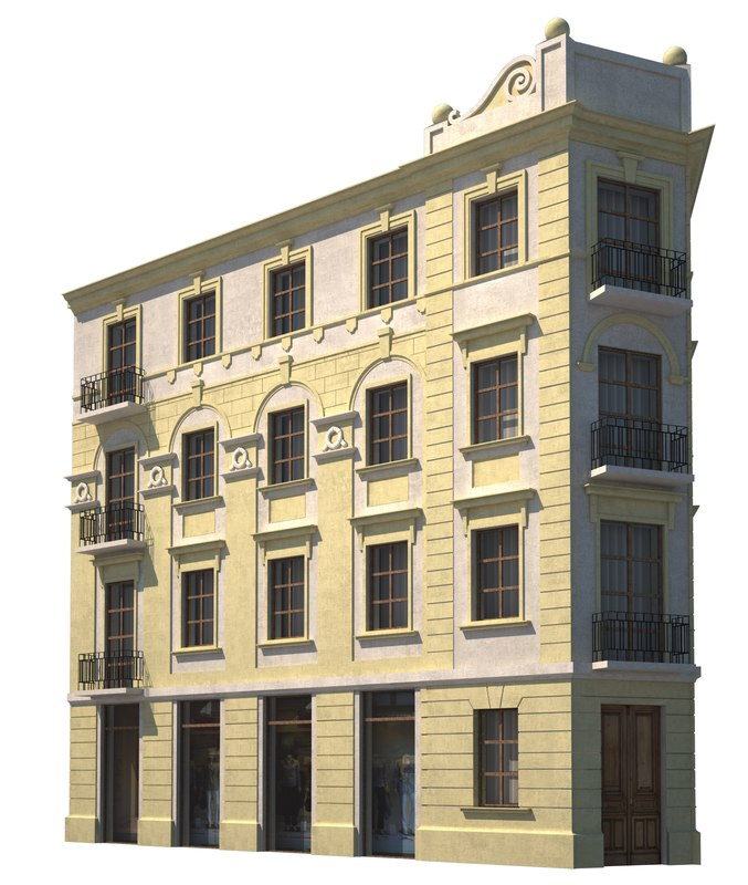 tenement house 3d model