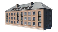 tenement house 3d 3ds