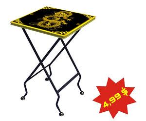 folding stool 3d max