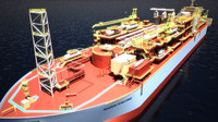 FPSO Maersk Peregrino - LIMTED TIME SALE (WAS $390)