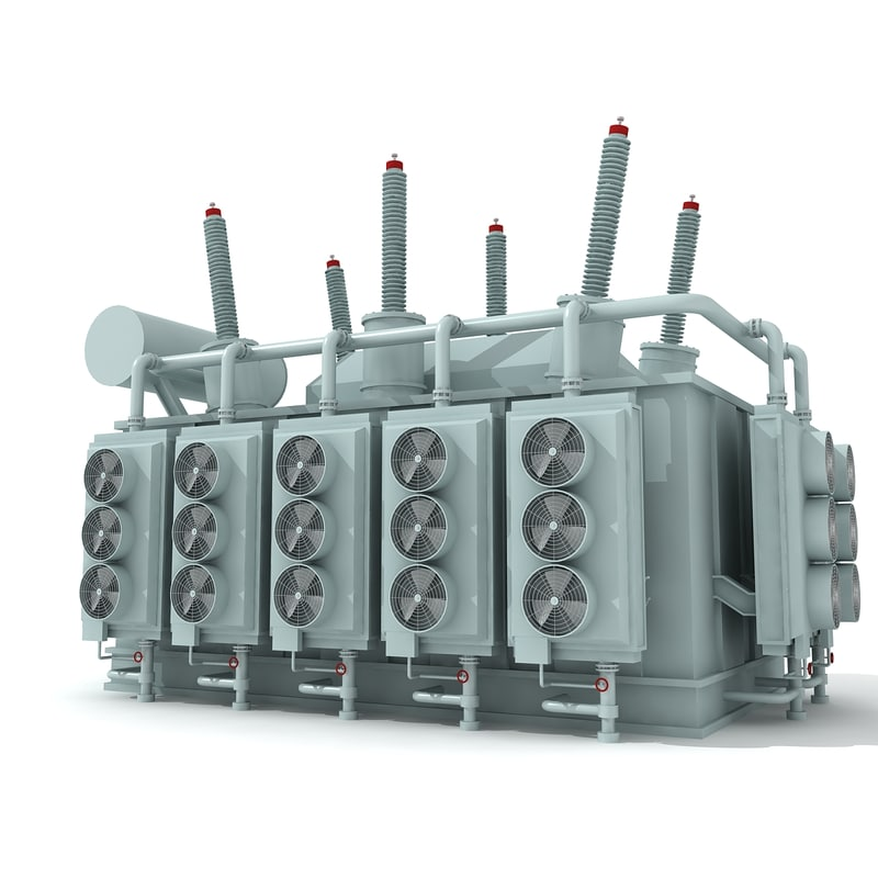electrical 3d model