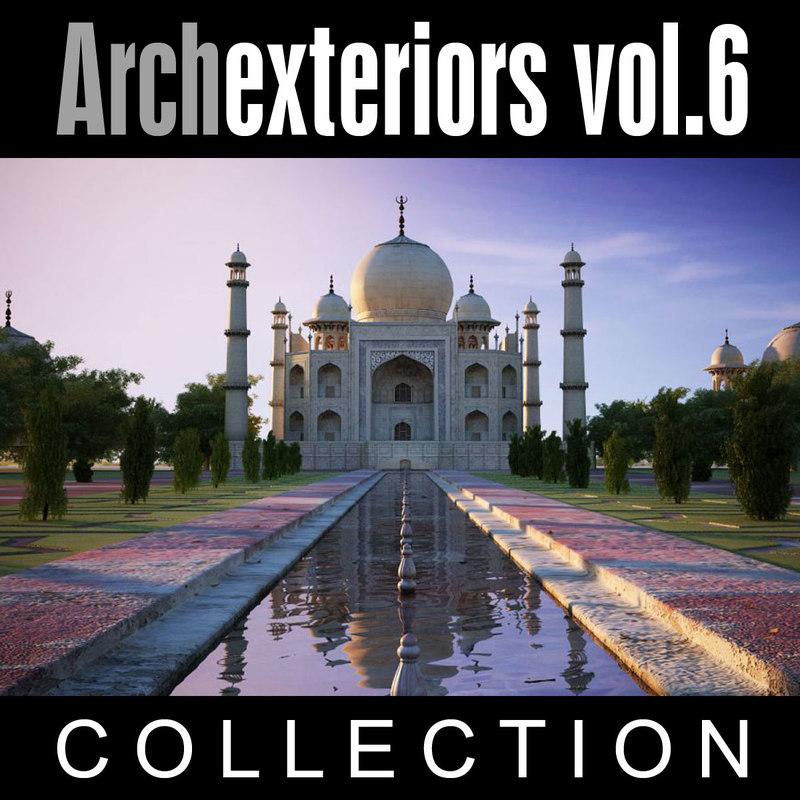 archexteriors vol 6 3d model