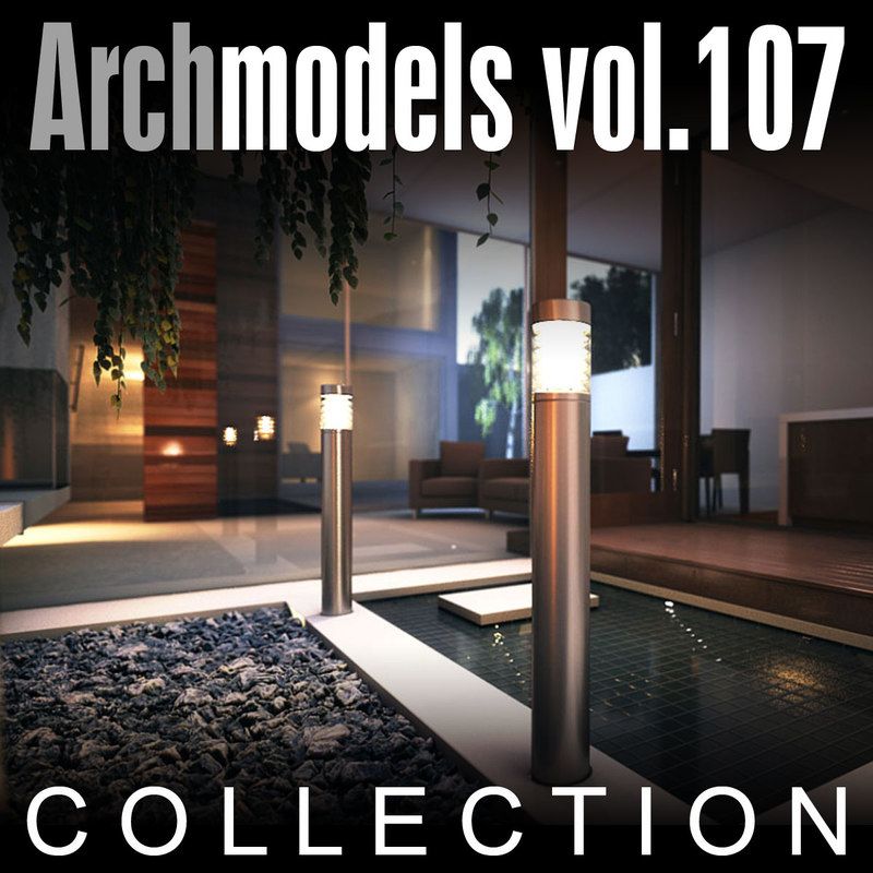 max archmodels vol 107 lamps