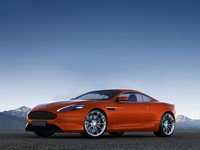 aston martin virage 3d model