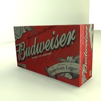 Beer Box Budweiser