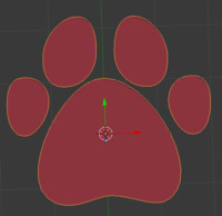 free paw 3d model