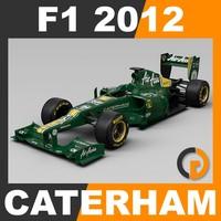 3ds max formula 1 2012 caterham