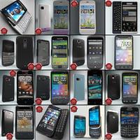 cellphones 70 3d max