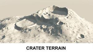 landscape earth 3d model