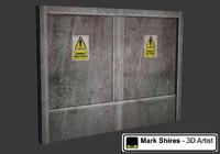 3d max lift door