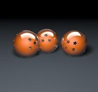 c4d dragon balls