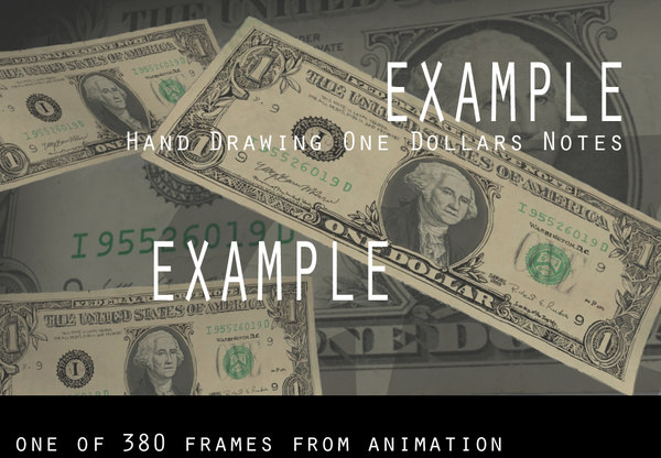 3d animation dollar