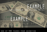 3d animation dollar