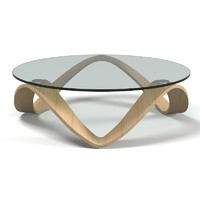 Emmemobili Summo TT Glass Oval Coffee Cocktail Table