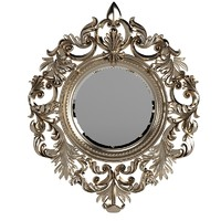 Fig Leaf Beatiful Wall Mirror Ornate