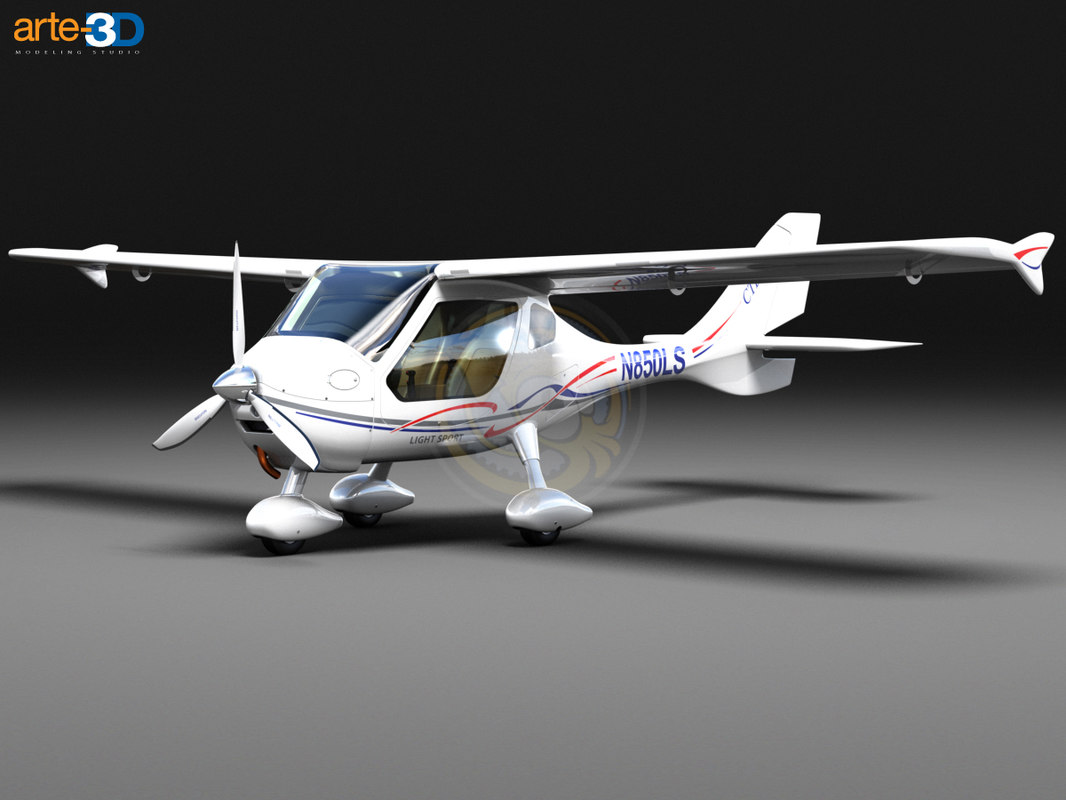 flight design ctls lighting 3d max