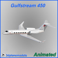 gulfstream g450 flight 3ds