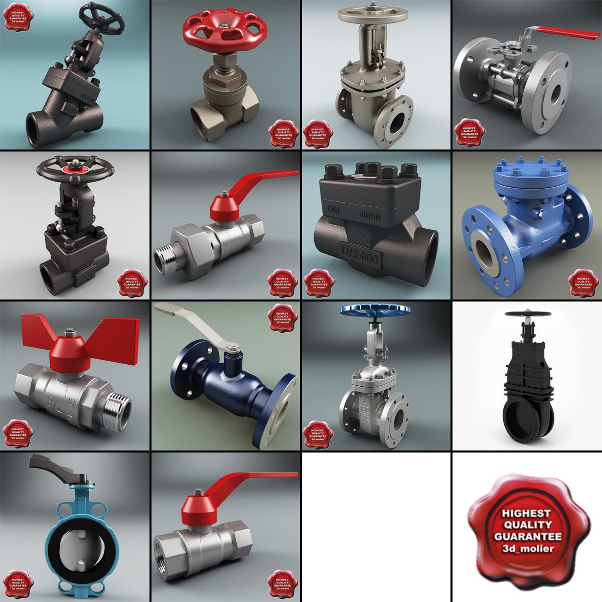 3d gate valves v5 model