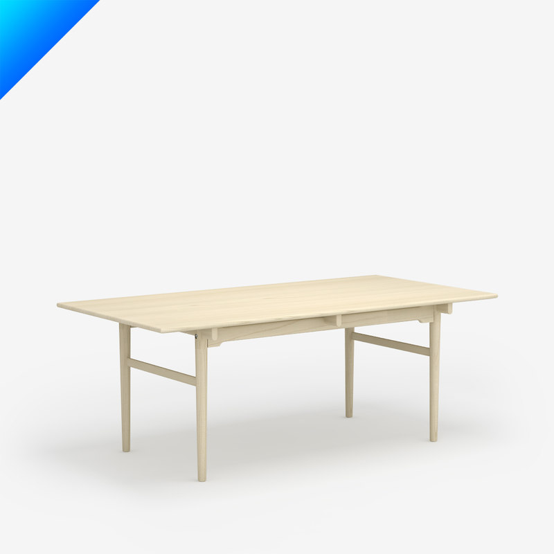 c4d ch327 table design hans wegner