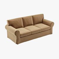 IKEA EKTORP Three-seat Sofa