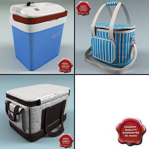 ice bags 3d model