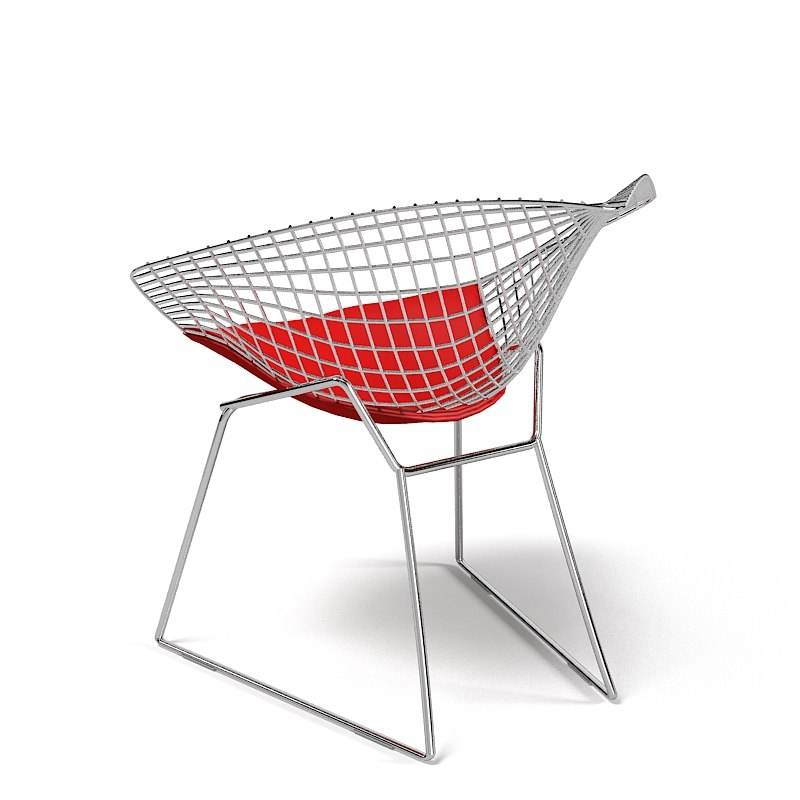 Sessel modern  bertoia diamond 3ds