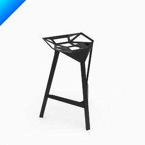 3d stool design konstantin grcic