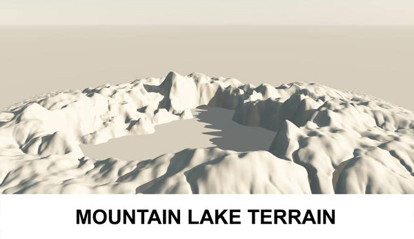3d landscape earth model
